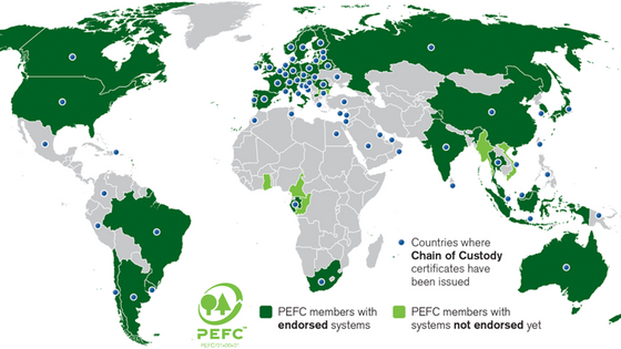 PEFC: The other timber legality framework for due diligence