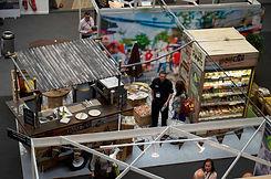 Trade show pop-up cafe