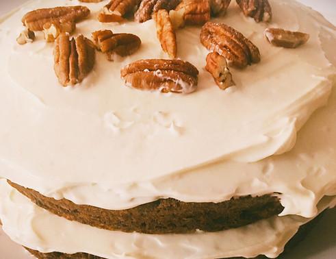 Susies carrot cake