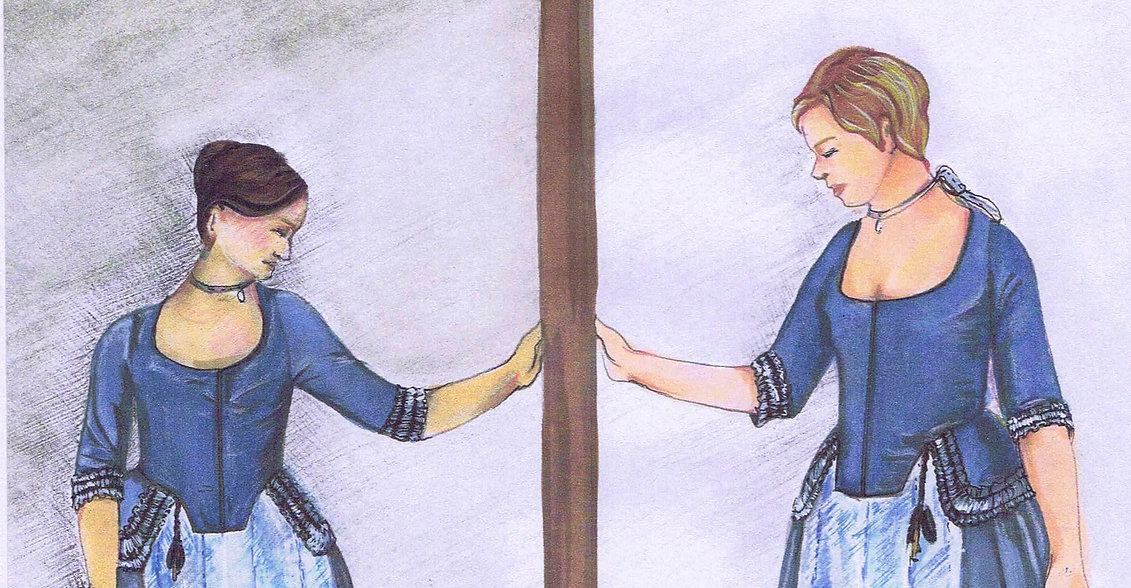 "Illustration Closeup of ""Mirror"" Scene"