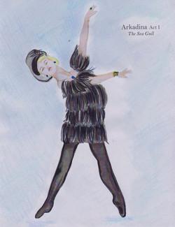 Tamara Designs_Costume Sketch_Seagul