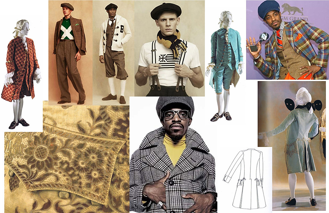 Research and Mood Board for Costume Design of She Stoops To Conquer