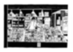 Illustration of CD market sall in Castle Market, Sheffield.