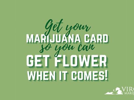 Smokable Cannabis Flower is Coming to Virginia Dispensaries—Get Your VA Marijuana Card Now!