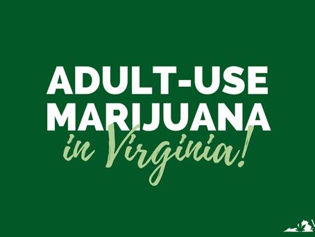 Is Recreational Marijuana Legal in Virginia Now?