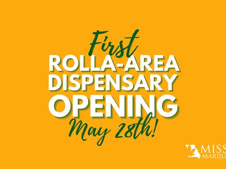 Rolla Gets First Medical Marijuana Dispensary - Opening May 28th 2021!