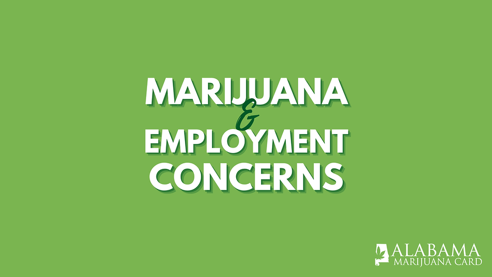 mmj and employment concerns