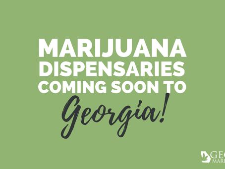 Georgia General Assembly Passes Bill Allowing Licensing for 30 Medical Marijuana Oil Dispensaries