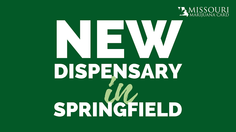 New dispensary opening in Springfield