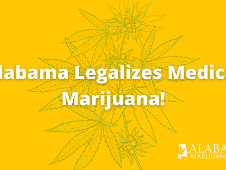 It's Official: Governor Ivey Signs Medical Marijuana Bill Into Law!