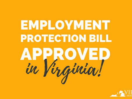 Northam Signs Bill Protecting Employees With a Virginia Marijuana Card