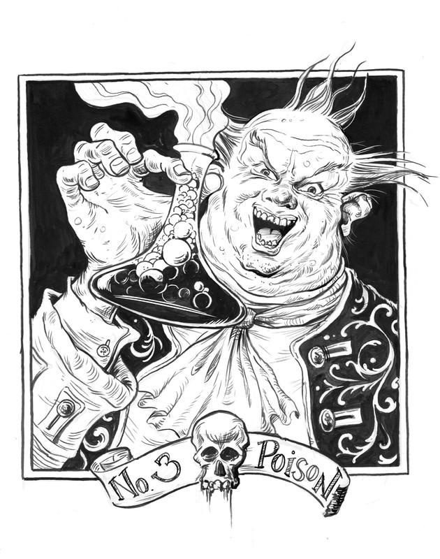 """Inktober 2017 """"#3 Poison"""""""