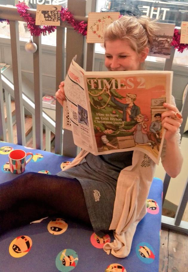 Times 2 Enid Blyton Cover by...ahem, Eileen Soper