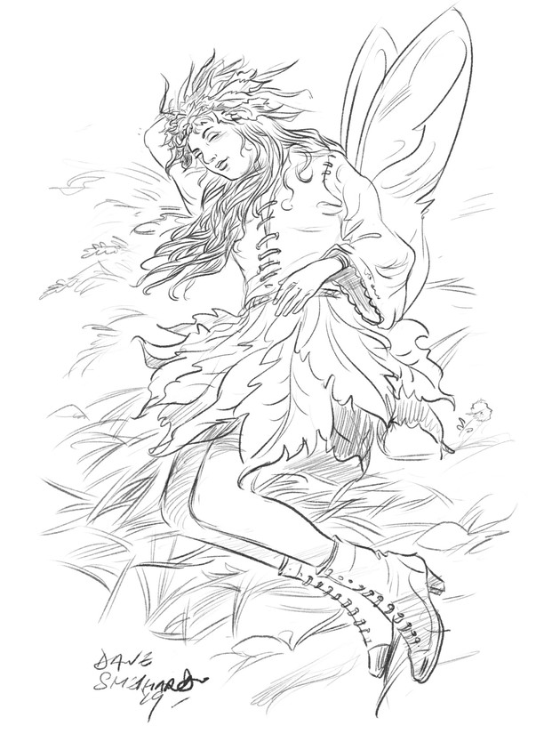 Daily Sketch Fairies a go go!.