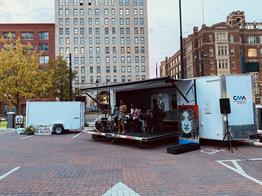 Cincinnati Music Accelerator Stage Trailer