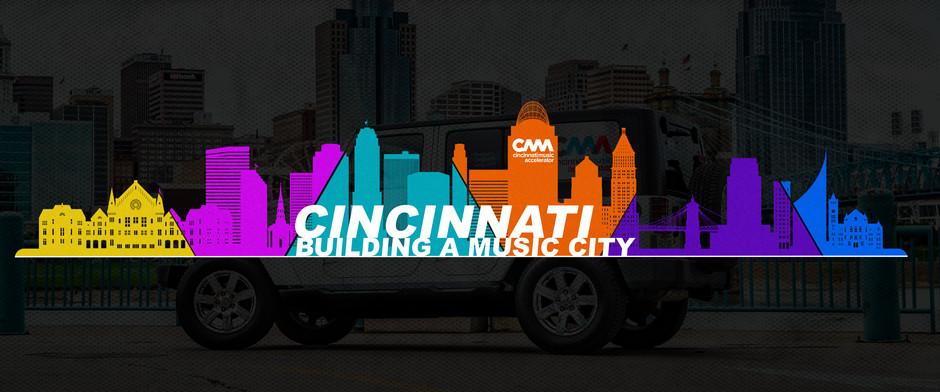 CINCINNATI MUSIC ACCELERATOR TO LAUNCH MUSIC CITY INITIATIVE CAMPAIGN