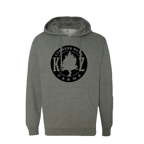 Cypress Bend Hoodie (Gray/ Black Logo)