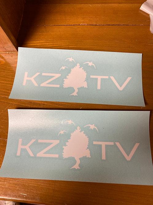 KZTV Truck / Cooler Decal
