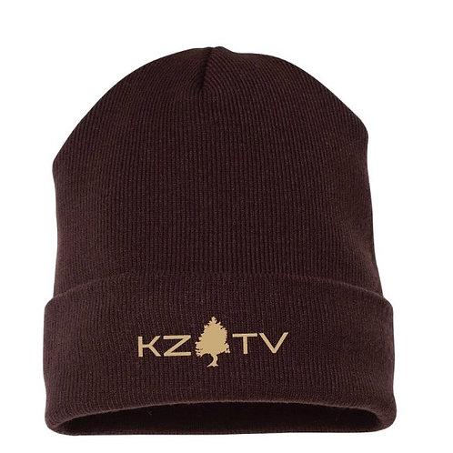 KZTV Beanie (Brown)