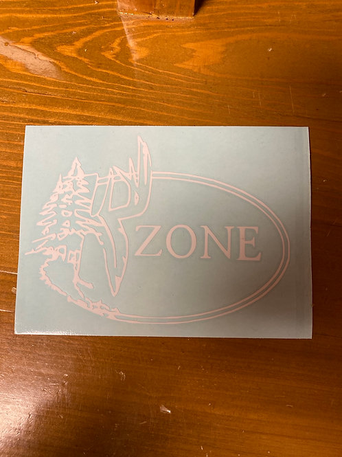 Secondary K Zone Logo Decal 4x6