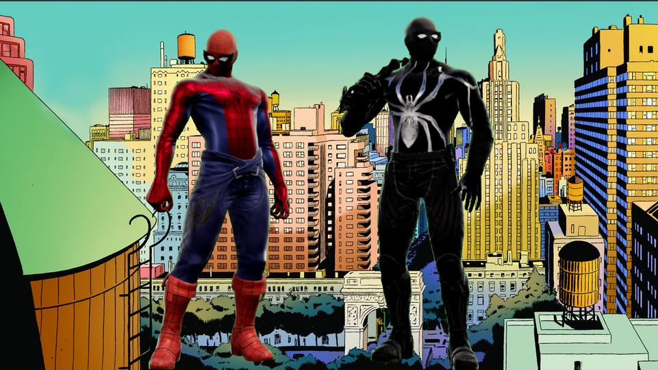 Spider-Man in Soulcalibur!