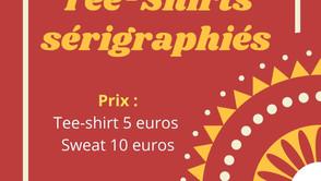 Vente de sweet et tee-shirt du Secteur Jeunesse !
