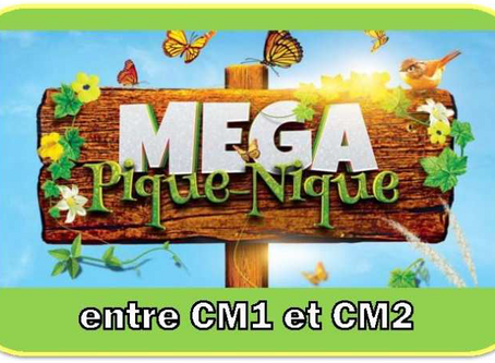 MEGA PIQUE-NIQUE des CM1-CM2