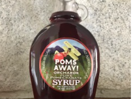 Drop this Friday - No Sugar Added Pomegranate Syrup