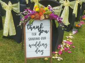 Real Celebrant Wedding - Tracey and Michael