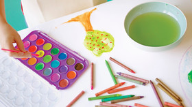 שלבים בהתפתחות הציור