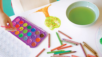 Art in Action in Beyond Alphabet Preschool and childcare
