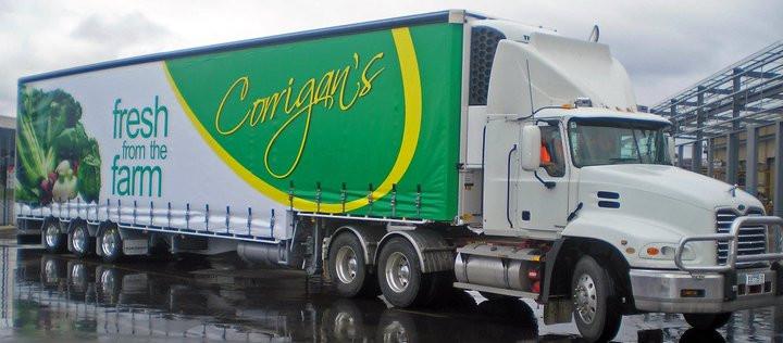 Todays Corrigan's Truck