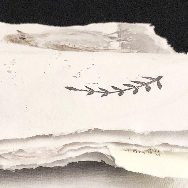 Skizzenbuch handgeschöpftes Papier
