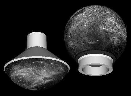 Sphere lithophane base