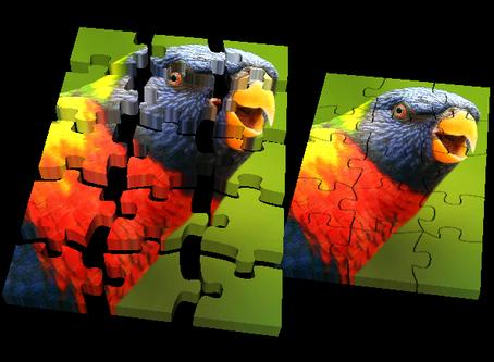 True color puzzle