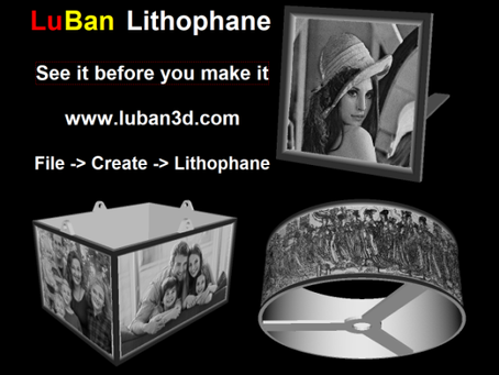 Lithophane 1st release