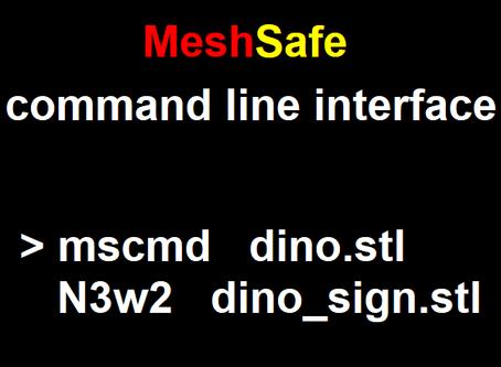 MeshSafe command line