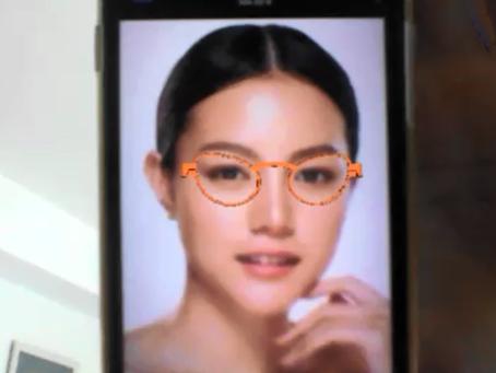 Eyeglasses virtual try on