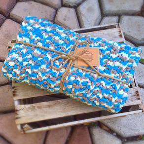 Hudson Baby Blanket // Crochet Pattern