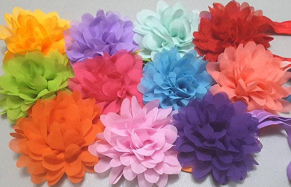 Stretchy neckstrap flowers (Set of 5)