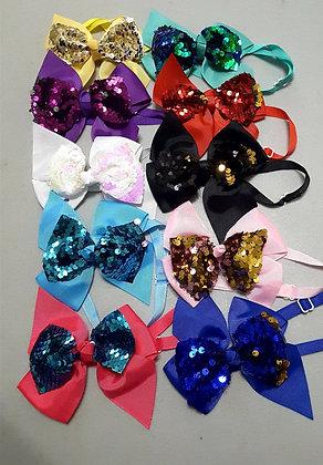 Pinwheel Sequin Bowties (Set of 5)