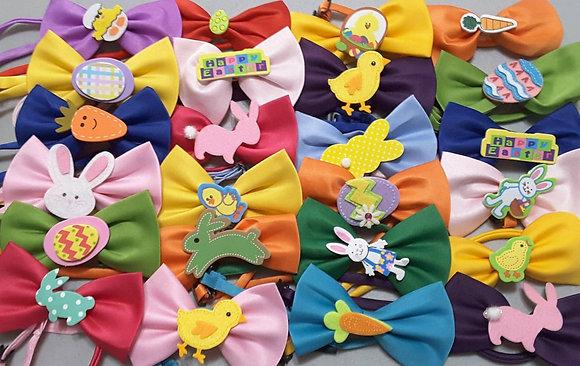 Easter/Spring embellished bowties (Set of 5)