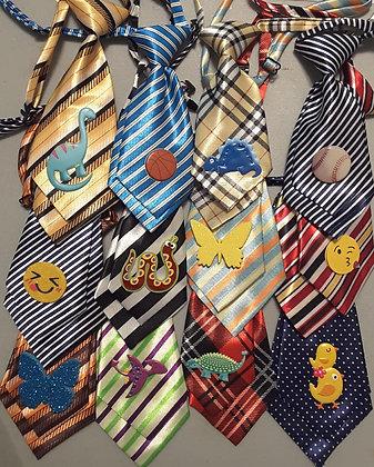 Everyday embellished medium neckties (Set of 5)