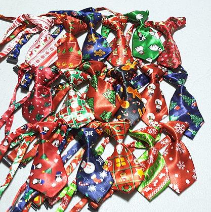Christmas Prints Neckties (Set of 5)