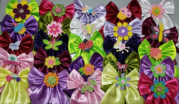 Everyday embellished butterfly bowties (Set of 5)