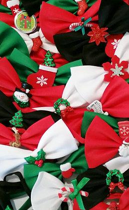 Christmas theme embellished bowties set