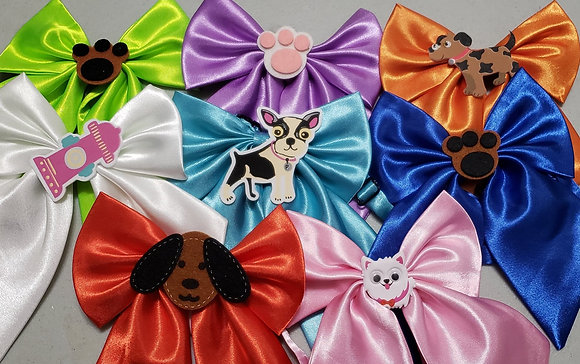 Puppy embellished butterfly bowties (Set of 5)