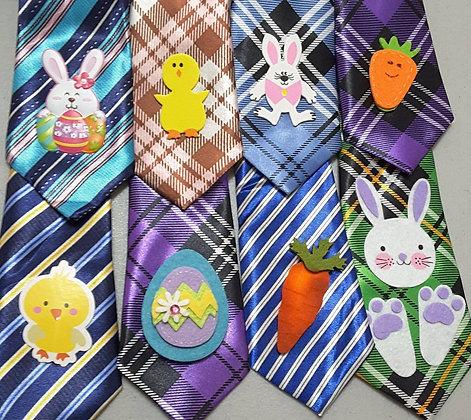 Easter/Spring embellished big dog neckties (Set of 5)