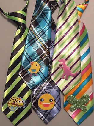 Everyday embellished big dog neckties (Set of 5)