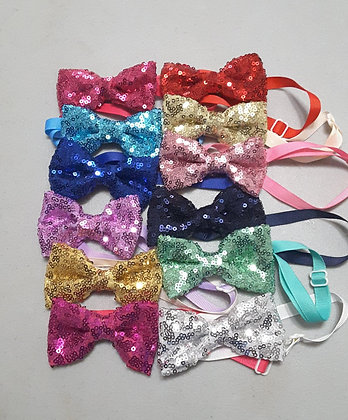Small Sequin Bowties (Set of 5)